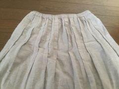 スタジオクリップ☆ピンタックが可愛い◇ギャザーのスカート