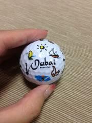 ドバイ限定!ゴルフボール。新品未使用!