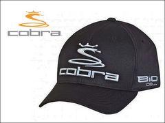 cobra キャップ(子供用) YOUTH PRO TOUR FLEXFIT CBRA2050-BLK