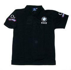 限定送料込み BMW 黒ポロシャツM