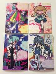 ポップン エクラル 第2弾 カード【メッセージカード4種】