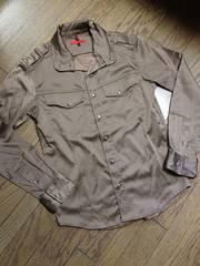 美品JUN RED デザインシャツジャケット ジュンメン