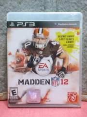 [����������A���] PS3/MADDEN(ϯ���) NFL 12/����