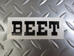 BEETステッカー黒★送料無料★CBX400FCB250TCB250NCB400N