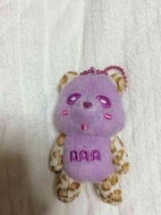 AAA☆ヒョウ柄え〜パンダ☆紫