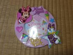 新品☆ディズニー☆写真立て☆ミニー デイジー☆ピンク