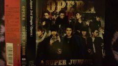 激安!超レア!☆SUPER JUNIOR/OPERA☆初回盤/CD+DVD帯・ステッカー付き!