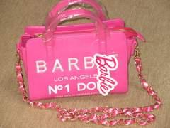 未使用タグ付☆バービーBARBIE*チェーンハンドバッグ*ピンク