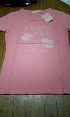 新品 リズリサ LIZ LISA ピンク Tシャツ