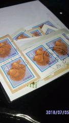 ・使用済み紙付き切手・【ヒオウギガイ】22枚