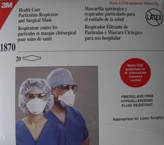3M 医療従事者向け微粒子用マスク1870,3M N95:1870新品