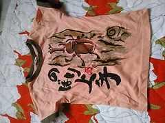 美品/かぶと虫T シャツ/サイズ120センチ
