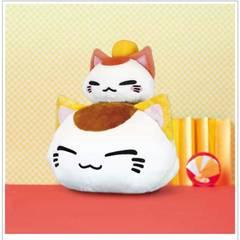 ◆ねむネコ★3段重ね★BIG★ぬいぐるみ★非売品★最後の1点