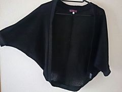 ドルマン、カーデ、ブラック羽織♪ボレロ150