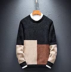 6色 メンズセーター ニット トップス 暖かい  M~3XL/AK567