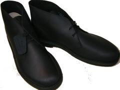 クラークス新品デザートブーツ ブラックレザー26103683us9.5