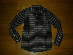 SILASサイラスボーダーシャツ1薄手長袖