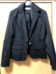 100スタ☆シンプル黒ジャケット