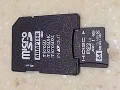 HIDISC MicroSDカード64GB※送料込み♪