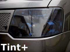 Tint+再利用OKオッティH92W/ekワゴンH82Wヘッドライト スモークフィルム