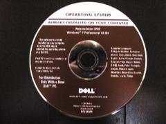★OS DELL Windows 7 Professional 32Bit