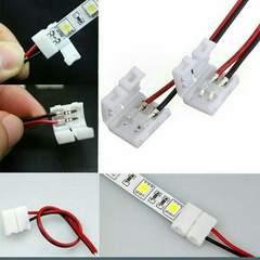 10本LEDテープ用ワンタッチコネクター