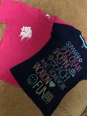 沖縄Tシャツ ギャップTシャツセット150�p☆ 夏半袖