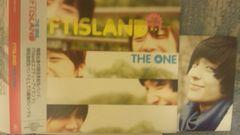 激レア!☆FTISLAND/THE ONE☆1万枚限定盤/CD+DVD帯付!激レア!トレカ付