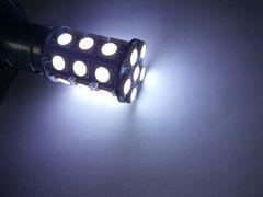 24V  LED    S25  ダブル球  ホワイト 白  27連  2個セット
