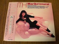 村井麻里子CD フェイスFAITH」初回限定盤