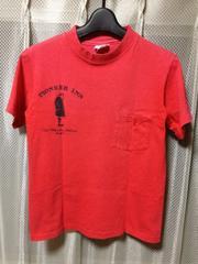 古着ヴィンテージ ヘインズ ビーフィー ポケット半袖Tシャツ S 赤 アメリカ製 チャンピオン