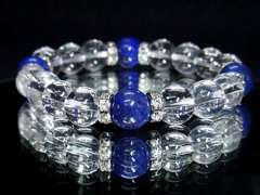 幸運/成功ラピスラズリ高級AAA天然石10mm数珠ブレス