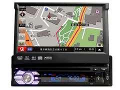 8Gカーナビ内蔵7インチタッチパネルDVD/ワンセグ