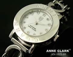 アンクラークララブハートブレス腕時計AN-1021-09ホワイト