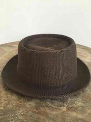 新品!オシャレ!メッシュハット 茶色 Hat