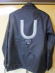 1店舗限定 UNDERCOVER GIZ U ロゴ コーチジャケット 黒S