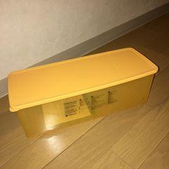 タッパーウェア フリッジスマート 米国製 レア オレンジ☆難有