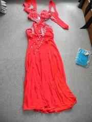 スワローテイルの短めロングドレス 送料500円