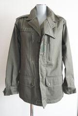 美品◆フランス軍 F2ジャケット ミリタリー 1989年製 88M 男性S 女性M 緑