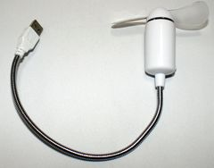 大人気 USBフレキシブル扇風機 USBファン type2
