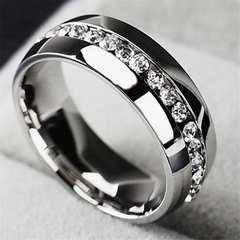 送料無料 カップル ステンレス 結婚指輪 サイズ10 銀