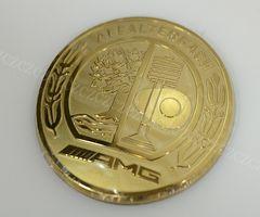 メルセデスベンツ AMGロゴ ゴールド コマンドステッカー