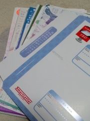 色々な方の同人ペーパー厚み2�pまでスマートレター180円