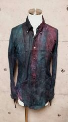新品KMRIIケムリ NEBULA SHIRT 1 Green