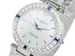アイザック バレンチノ 天然サファイア 腕時計 IVG-9100-1