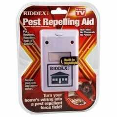 RIDDEX害虫駆除 超音波 虫除け対策 ゴキブリ ネズミ ねずみ 蜂 蚊 他