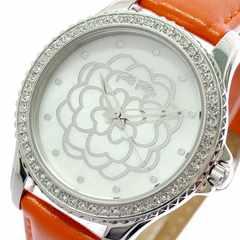 フォリフォリ 腕時計 レディース WF15A034SPW-OR クオーツ