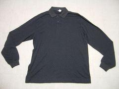 男 ノーティカ 長袖柄ポロシャツ XL
