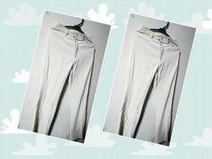 スーツ風カジュアルパンツ