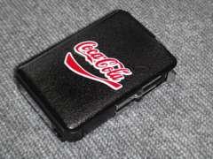 シガレットケース ターボライター内蔵 コカコーラ Coca-Cola 柄